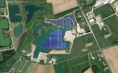 Décembre 2020 – Une future centrale flottante à Montpezat-d'Agenais