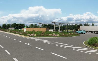 Septembre 2020 – Partenariat pour la future station BioGNV du Confluent, à Damazan