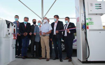 Retour sur l'inauguration de la station BioGNV de Damazan