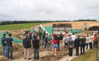 7 juillet 2021 – Visite de l'unité de biogaz à Madaillan