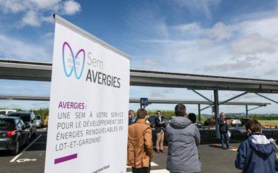20 mai 2021 – Inauguration des ombrières solaires à Montesquieu