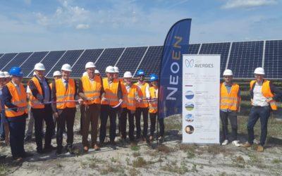 1er juillet 2021 – Inauguration du parc solaire de Réaup-Lisse